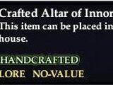 Crafted Altar of Innoruuk