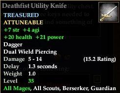 Deathfist Utility Knife