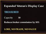 Expanded Veteran's Display Case (Sales Display)