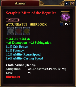 Seraphic Mitts of the Beguiler