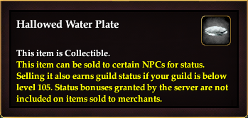 Hallowed Water Plate