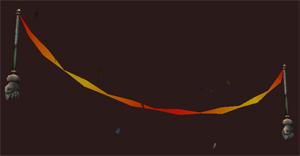 Jester's Golden Streamer