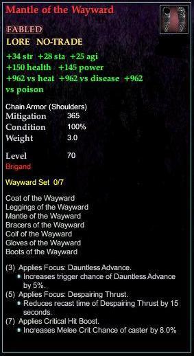 Mantle of the Wayward (Version 1)
