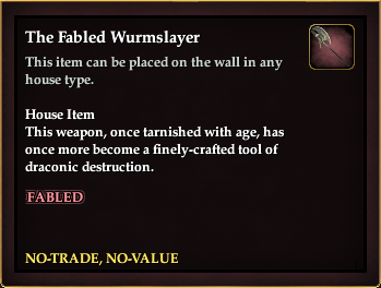 The Fabled Wurmslayer