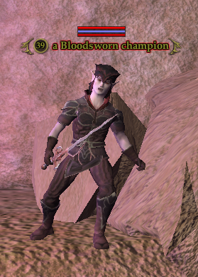 A Bloodsworn champion (The Crypt of T'haen)