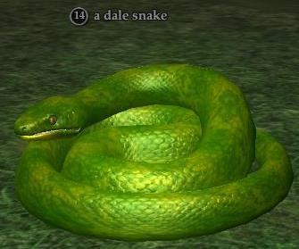 A dale snake