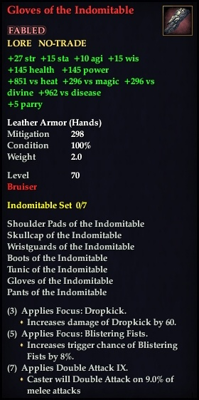 Gloves of the Indomitable (Version 1)