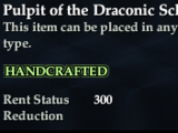 Pulpit of the Draconic Scholar