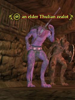 An elder Thulian zealot