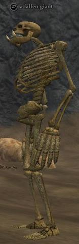 A fallen giant