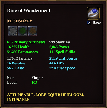 Ring of Wonderment