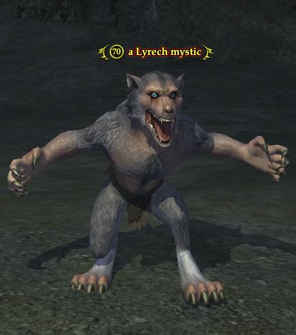 A Lyrech mystic (werewolf)