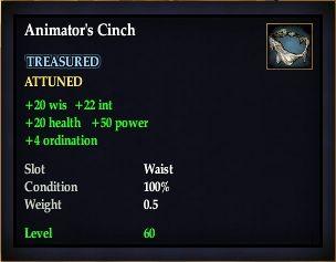 Animator's Cinch