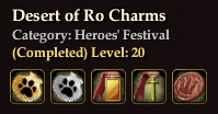 Desert of Ro Charms