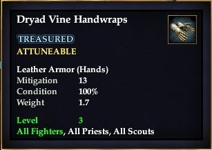 Dryad Vine Handwraps
