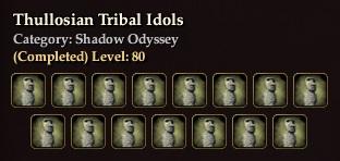 Thullosian Tribal Idols