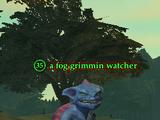 A fog grimmin watcher