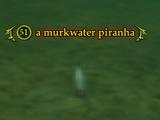 A murkwater piranha