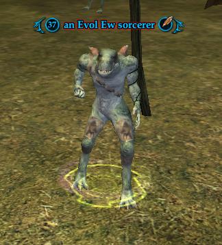 An Evol Ew sorcerer