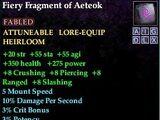 Fiery Fragment of Aeteok