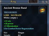 Ancient Bronze Band