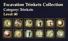 Excavation Trinkets Collection