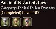 Ancient Nizari Statues