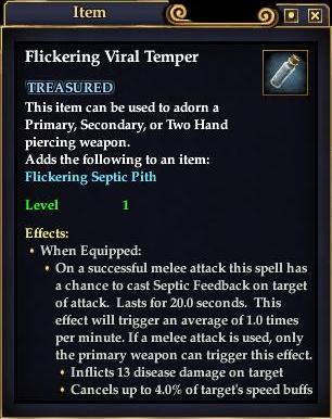 Flickering Viral Temper