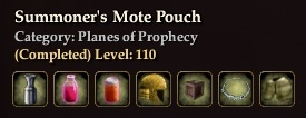 Summoner's Mote Pouch (Collection)
