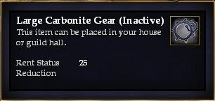 Large Carbonite Gear (Inactive)