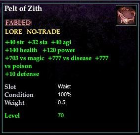 Pelt of Zith