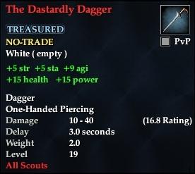 The Dastardly Dagger