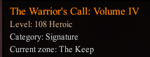 The Warrior's Call: Volume IV