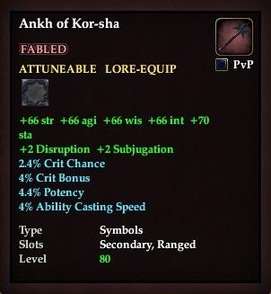 Ankh of Kor-sha (Version 1)