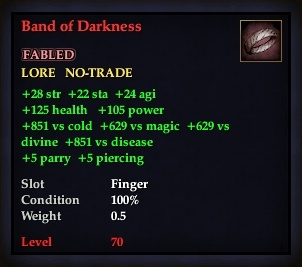 Band of Darkness (Version 1)