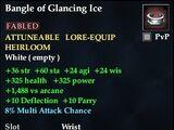 Bangle of Glancing Ice
