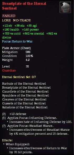 Breastplate of the Eternal Sentinel (Version 1)