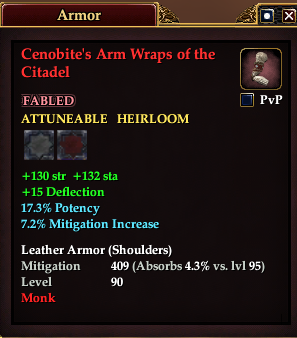 Cenobite's Arm Wraps of the Citadel