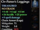 Civ-Parser's Leggings