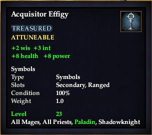 Acquisitor Effigy