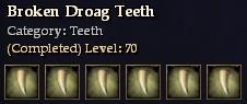 Broken Droag Teeth