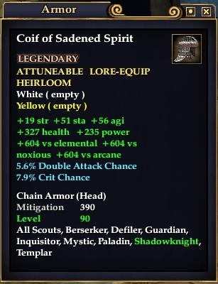 Coif of Sadened Spirit