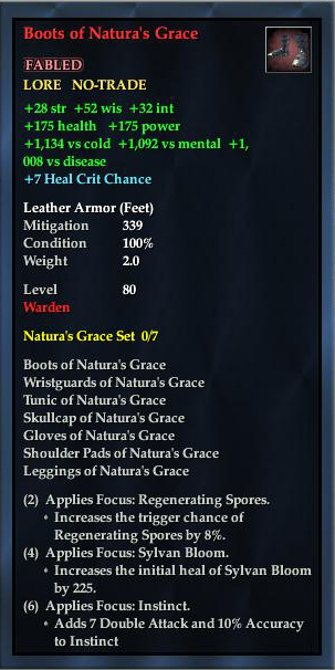 Boots of Natura's Grace