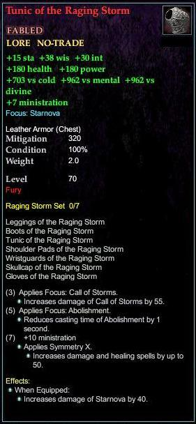 Tunic of the Raging Storm (Version 1)