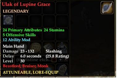 Ulak of Lupine Grace