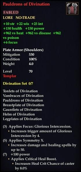 Pauldrons of Divination (Version 1)