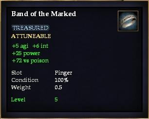 Band of the Marked