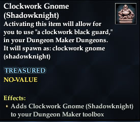 Clockwork Gnome (Shadowknight)