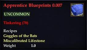 Apprentice Blueprints 0.007