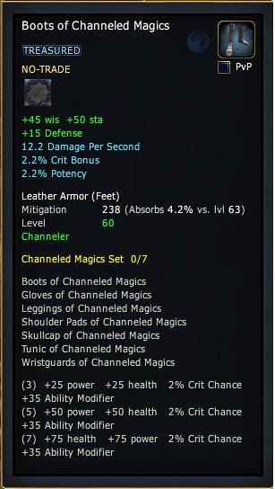 Boots of Channeled Magics